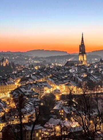 Machen Sie Ferien zuhause - zum Beispiel in Bern.