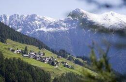 Vnà im Unterengadin, der perfekte Ort für Familienferien mitten in der Natur.